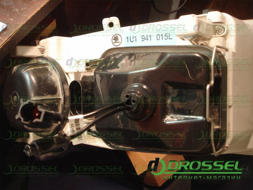 установка линз h7 skoda octavia