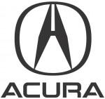 Левое зеркало Acura