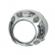Маска для биксеноновых линз Panamera Led Style CREE (ДХО + габарит)