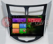 RedPower Штатная магнитола RedPower 21067B IPS для Hyundai Accent RB, HB на базе OS Android 4.4.2
