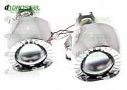 Би-ксеноновые линзы Cyclon G5 mini 1.8` H1 (45мм)