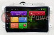 Штатная магнитола RedPower 21004B8 для Volkswagen Eos, Golf, Passat B6, B7, CC, Multivan, Tiguan на базе OS Android 4.4.2