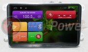 Штатная магнитола RedPower 21004B9 для Skoda Fabia, Octavia, Roomster, Yeti на базе OS Android 4.4.2