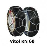 Цепи противоскольжения Vitol KN 60 для колес R13, R14, R15