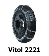 Цепи на колеса пландеки Vitol 2221