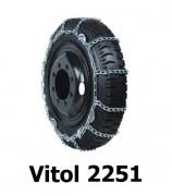 Цепи на колеса фуры Vitol 2251