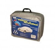 Тент для автомобиля Vitol FD3000 S (серый цвет)