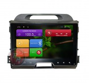 Штатная магнитола RedPower 21074B для Kia Sportage R на базе OS Android 4.4.2