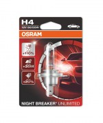 Лампа галогенная Osram Night Breaker Unlimited OS 64193 NBU-01B (H4)