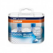 Комплект галогенных ламп Osram Cool Blue Hyper+ OS 62193 CBH+ DUOBOX (H4)