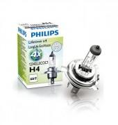 Лампа галогенная Philips LongLife EcoVision PS 12342 LLECO C1 (H4)
