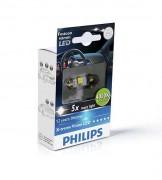 —ветодиодна¤ лампа Philips X-tremeVision LED (C5W) PS 12945 1LED (4000K)