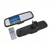 Зеркало заднего вида с монитором и видеорегистратором Swat VDR-FR-27