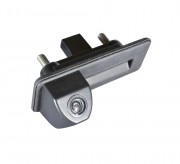 Prime-X Камера заднего вида Prime-X TR-01 для Audi A1, Skoda Fabia II, Octavia A5, Roomster, SuperB Combi, Yeti (в ручку багажника)