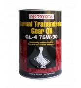 Оригинальное трансмиссионное масло Toyota MT Gear Oil GL-4 75w-90 (08885-81026)