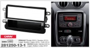 ACV Переходная рамка ACV 281250-13-1 для Renault Duster, Sandero, Logan, Symbol, Captur, Trafic / Dacia, 1DIN