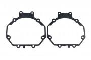 Переходные рамки для установки биксеноновых линз на Suzuki, Subaru, Mitsubishi, Mazda, Kia