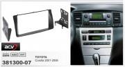 Переходная рамка ACV 381300-07 для Toyota Corolla 2001-2006, 2DIN
