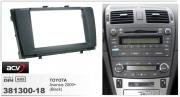 Переходная рамка ACV 381300-18 для Toyota Avensis 2009+, 2DIN