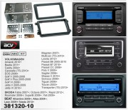 Переходная рамка ACV 381320-10 для Volkswagen, Skoda, Seat, 2DIN