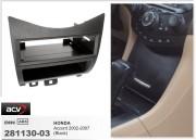Переходная рамка ACV 281130-03 для Honda Accord 2002-2007, 1DIN
