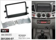 ACV ���������� ����� ACV 381200-07 ��� Mitsubishi L200 2006+, Pajero Sport II 2008+, 2DIN