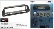 ACV ���������� ����� ACV 281190-03 ��� Mercedes Sprinter 2002-2006, 1DIN