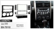Переходная рамка Metra 99-7012 для Mitsubishi Galant 2004+, 2DIN / 1DIN