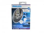 Philips Комплект светодиодов Philips X-treme Ultinon 12953BWX2 (H4)
