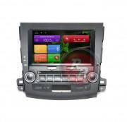 Штатная магнитола RedPower 21056B для Mitsubishi Outlander II, Citroen C-Crosser, Peugeot 4007 на базе OS Android 4.4.2