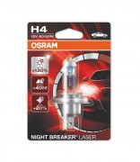 Лампа галогенная Osram Night Breaker Laser 64193 NBL-01B +130% (H4)