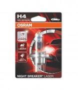 Лампа галогенная Osram Night Breaker Laser 64193 NBL-01B +130% (H4)