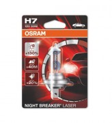 Лампа галогенная Osram Night Breaker Laser 64210 NBL-01B +130% (H7)