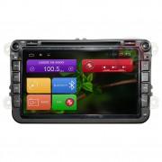 Штатная магнитола RedPower 21004BDVD для Volkswagen, Skoda Android 6.0.1 (Marshmallow)