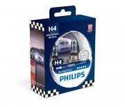 Philips Комплект галогенных ламп Philips Racing Vision 12342RVS2 +150% (H4)