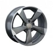 Диски Replica A996 (для Audi) черные матовые полированные