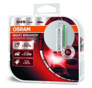 Комплект ксеноновых ламп Osram D4S Xenarc Night Breaker Unlimited 66440XNB Duobox