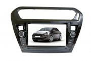 Штатная магнитола Phantom  DVM-6301 G iS Black для Peugeot 301 2013+