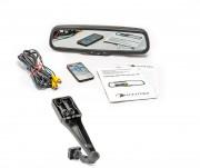 Штатное зеркало заднего вида с монитором и видеорегистратором Phantom RMS-430 DVR Full HD-25 для Toyota, BYD