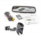 Phantom Штатное зеркало заднего вида с монитором и видеорегистратором Phantom RMS-430 DVR Full HD-48 для Volvo, Ford