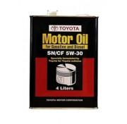 Оригинальное моторное масло Toyota Motor Oil SN/CF 5W-30 08880-83322