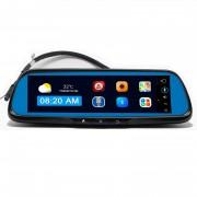 Штатное зеркало заднего вида Prime-X 108 с монитором, видеорегистратором, Wi-Fi, Bluetooth, GSM, GPS на базе OS Android 5.1.1