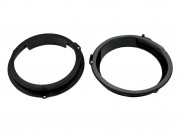 Комплект подиумов / проставок для динамиков Connects2 CT25FD14 в двери Ford Focus, C-Max 2011-2013