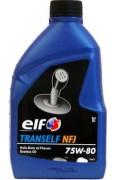 Полусинтетическое трансмиссионное масло Elf Tranself NFJ 75W80 GL4 +