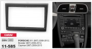 Переходная рамка Carav 11-585 для Porsche Boxster, 911, Cayman, 2DIN