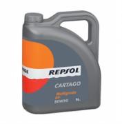 Минеральное трансмиссионное масло Repsol Cartago Multigrado EP 80W-90 GL-5