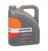Минеральное трансмиссионное масло Repsol Cartago Multigrado EP 85W-140 GL-5