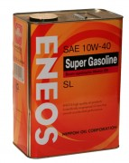 Моторное масло Eneos Super Gasoline SL 10W40 Semi-synthetic