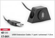 Универсальный USB удлинитель Carav 17-001