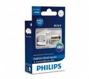 Светодиодная лампа Philips X-treme Ultinon (P21W / BA15S) 12898X1